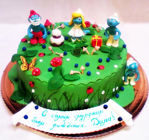 03-detskiy-tort-smurfiki